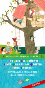 Kinderfest Einladung